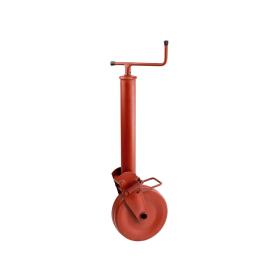 halbautomatisches Stützrad 1000 kg mit Federverriegelung