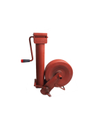 Simol Stützrad 2.000 kg halbautomatisch mit Federverriegelung