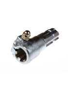 PTO shaft extension 1 3/8 inch 6 teeth to 1 3/8 inch 6 teeth - with clamping screw