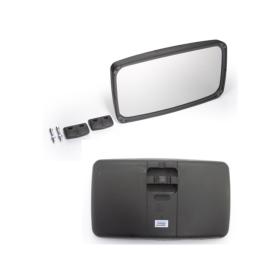 Außenspiegel 33x18,5cm mit Kunststoffgehäuse