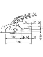 AL-KO AK 270 Bausatz - gebremste Anhänger bis 2.700kg