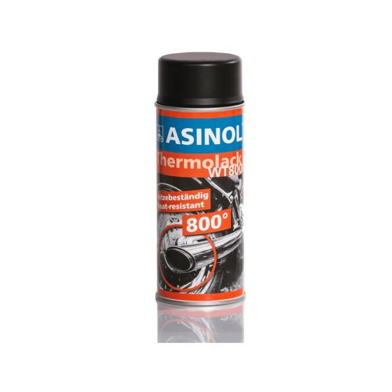 Spraydose mit schwarzem Auspufflack