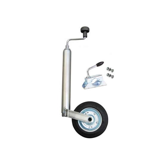 150 kg Support wheel with clamp incl. fixing material