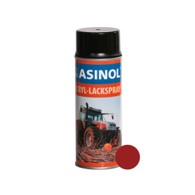 Spraydose mit roter Farbe RAL 3002