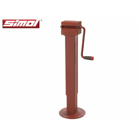 Simol support leg with vertical crank and two-speed...