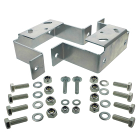 2 brackets for Stema parking supports and clamp holders...