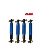 4 Stk. AL-KO Octagon Plus - Achsstoßdämpfer blau bis 1.350 kg Einzelachse