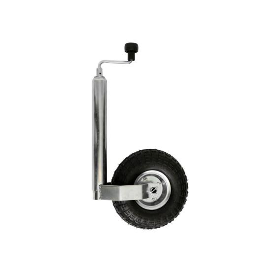 luftbereiftes 150 kg Stützrad für PKW Anhänger