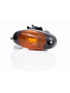 ovale LED Begrenzungsleuchten in orange 12-36V.