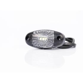 ovale LED Begrenzungsleuchten in weiß 12-36V mit...