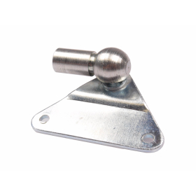 Side fitting incl. angle joint M8 for mounting gas...