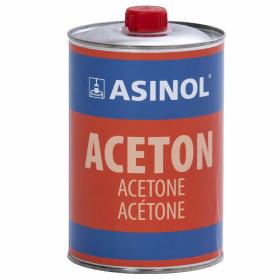 Ein Liter Blechdose Aceton von ASINOL