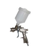 Lackierpistole mit einer 1,5mm Düse und einem 0,5 Liter Fließbecher aus Kunststoff