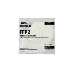10x FFP2 Atemschutzmaske CE 2163 nach EN149:2001+A1:2009, gefaltet