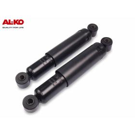 schwarze AL-KO Octagon Plus Achsstoßdämpfer für PKW...