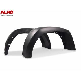 schwarzer Kunststoffkotflügel von der Firma ALKO mit den...