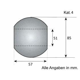 Unterlenker Kugel Kat. 4