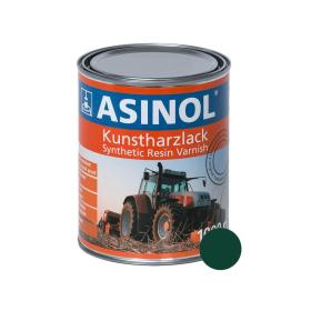 Dose mit moosgruener Farbe RAL 6005
