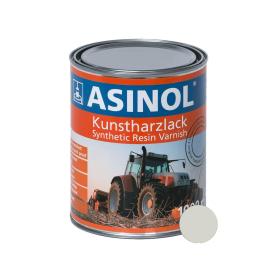 Dose mit grauweisser Farbe RAL 9002