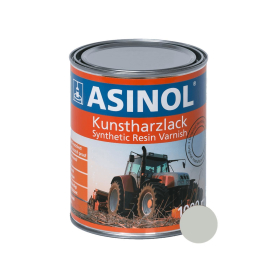 Dose mit papyrusweisser Farbe RAL 9018