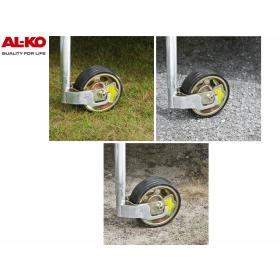 ALKO support wheel incl. wheel load display 180 kg