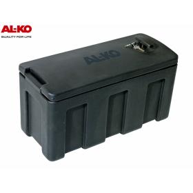 black plastic storage box from the company AL-KO