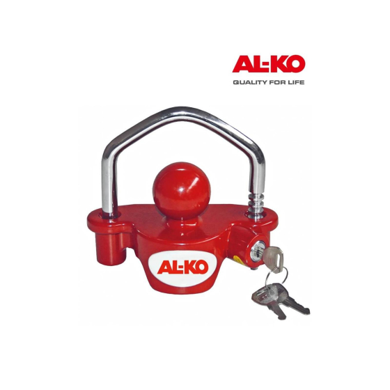 ALKO anti-theft device universal for trailer couplings.