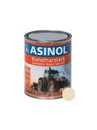 Dose mit weisser Farbe für Brown RAL 1015