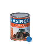 Dose mit blauer Farbe für Holzer Walzen RAL 5015
