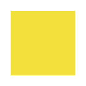 Box with yellow colour for patrons 2C RAL 1018
