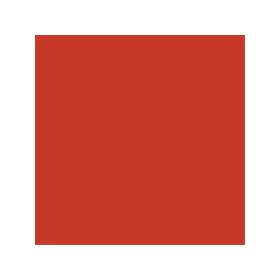 Dose mit roter Farbe für O&K Bagger RAL 2002