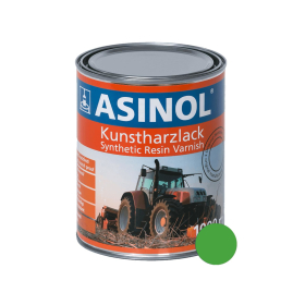 Dose mit grüner Farbe für Rotina RAL 6018