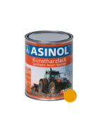 Can with yellow paint for Rubbermatt cleaning machines RAL 1007