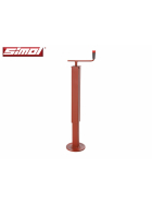 Simol support foot 1000 kg with horizontal crank