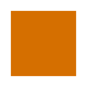 Box with as-orange colour RAL 2000