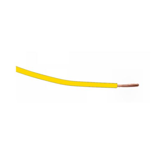 KFZ Kabel 2,5mm² gelb - 1 Meter