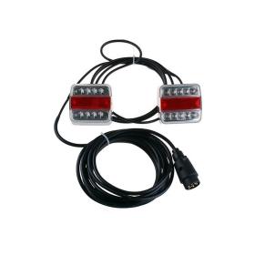 LED Anhänger Rückleuchten komplett verkabelt