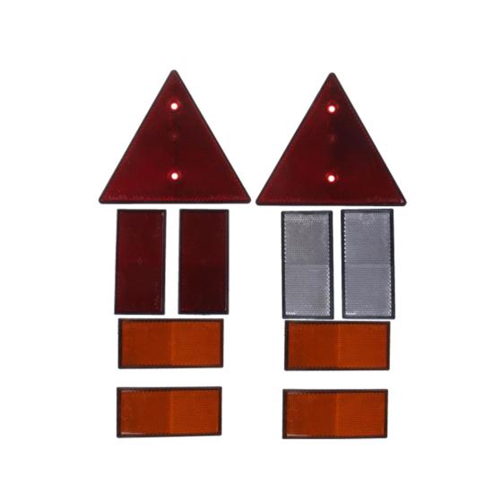 r ckstrahler set 10 teilig 9 85. Black Bedroom Furniture Sets. Home Design Ideas