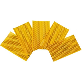 Reflexfolie 1St., 3M Diamond Grade Hochreflexfolie gelb,...