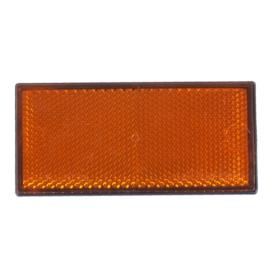 Rückstrahler gelb(Seitlich) 105x55mm - selbstklebend