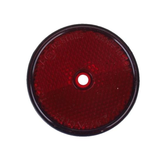 Rückstrahler rot(Hinten) Ø 60mm