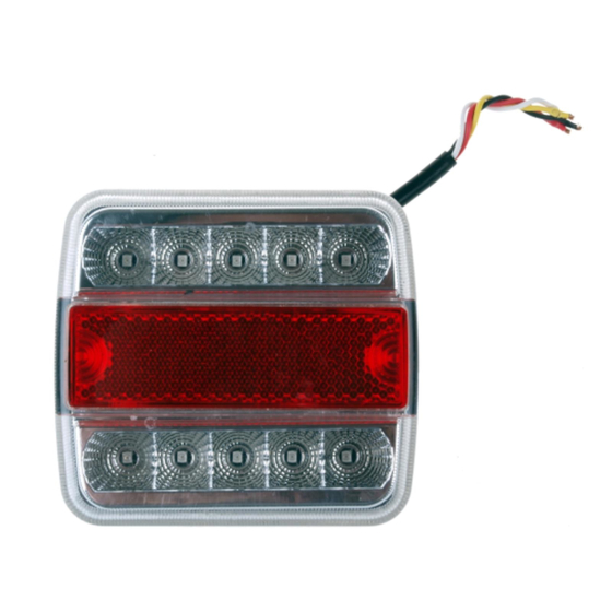 LED Rückleuchte mit 4 Funktionen