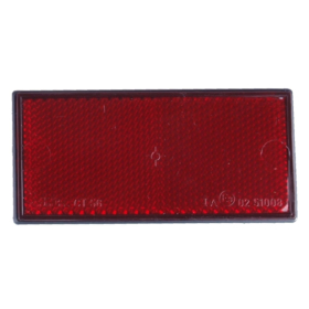 Rückstrahler rot(Hinten) 105x55mm - selbstklebend