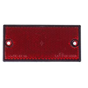 Rückstrahler rot(Hinten) 105x55mm - zum anschrauben
