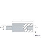 Distanzstück Stahl 58mm
