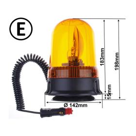 gelbe Rundumleuchte mit 12 Volt und 55 Watt, einem...
