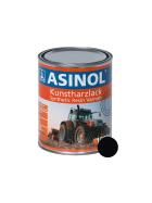 Dose mit fahrgestell-schwarzer Farbe RAL 9005