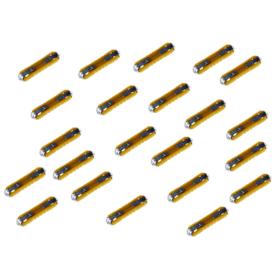 Sicherungseinsätze Kunststoff 5 A - 100 Stück