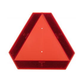 Warntafel für langsam fahrende Fahrzeuge und...