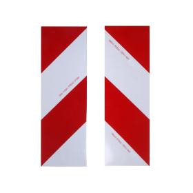 2 x Warnfolie - retroreflektierend 423 x 141 mm -...